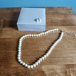 Claire's Pearl Jewelry Set